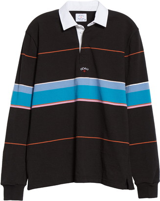 Noah Multicolor Stripe Rugby Shirt