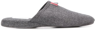 Thom Browne Flannel Slippers