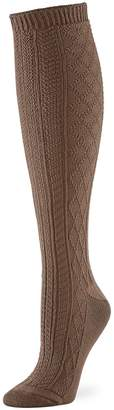 Hue Women's Cable-Knit Knee-Length Socks