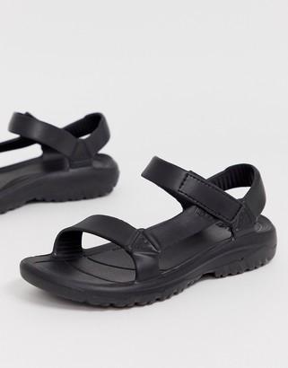 Teva Hurricane Drift EVA sandals in black