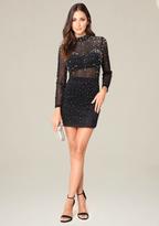 Bebe Jessa Embellished Dress