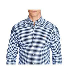 Polo Ralph Lauren Slim-Fit Gingham Oxford Shirt