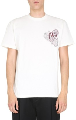 J.W.Anderson Embroidered Monogram T-Shirt