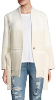 IRO Coursey Colorblock Belted Jacket
