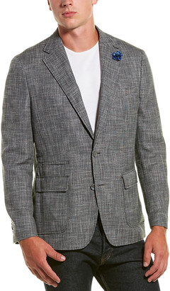 Robert Graham Benton Wool & Linen-Blend Sportscoat