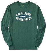 Ralph Lauren Boys 2-7 Graphic Long Sleeve Tee