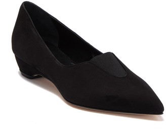 Bettye Muller Jacoby Pointed Toe Suede Loafer