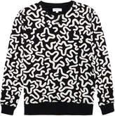 Soulland Keit Black Printed Sweatshirt