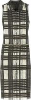 Vera Wang Tartan print dress