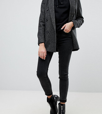 Weekday Body super stretch skinny jean with organic cotton in black