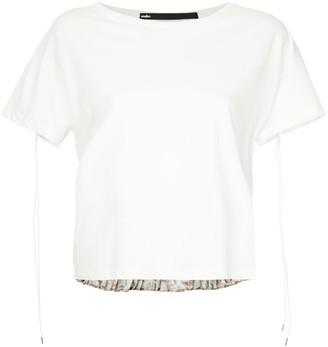 Muller of Yoshio Kubo Loretto pleats T-shirt