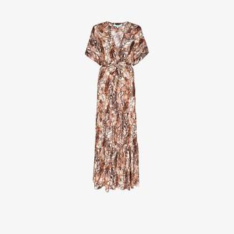 Melissa Odabash Aria snake print beach dress