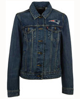 Levi's Women's New England Patriots Denim Trucker Jacket