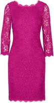 Diane von Furstenberg Zarita corded lace dress