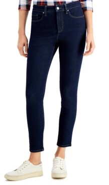 Charter Club Tummy-Control High-Rise Skinny Jeans, Created for Macy's