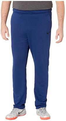 Nike Big Tall Dry Pants Regular Fleece (Blue Void/Black) Men's Casual Pants