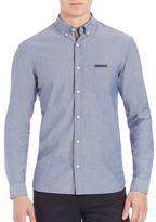 Burberry Solid Long Sleeve Shirt