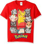 Pokemon Big Boys' Short Sleeve T-Shirt Shirt