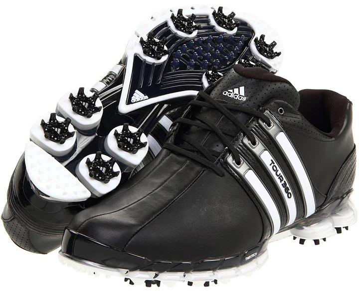 adidas TOUR360 ATV (Black/Black/White) - Footwear