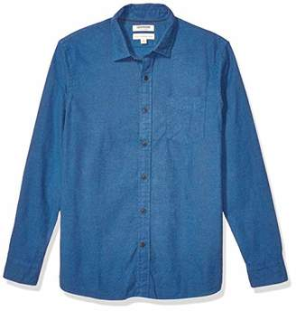 Goodthreads Standard-Fit Long-Sleeve Brushed Flannel Shirt Casual,(EU M)