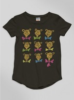 Junk Food Clothing Kids Girls Dr. Seuss Bears Tee-jtblk-l