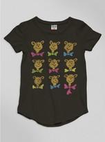 Junk Food Clothing Kids Girls Dr. Seuss Bears Tee-jtblk-m