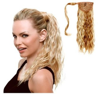 "Hairdo. by Jessica Simpson & Ken Paves 18"" Beach Curl Pony"
