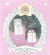 Precious Moments Little Girl Pop-up Christmas Ornament 1993
