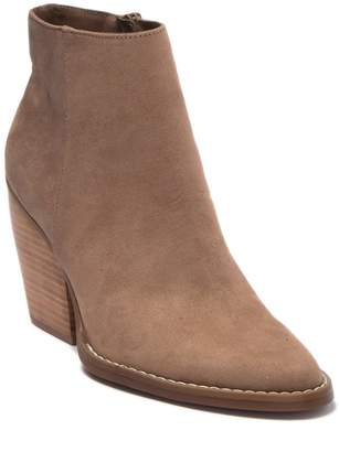 Madden-Girl Klicck Almond Toe Chunky Block Heel Ankle Boot