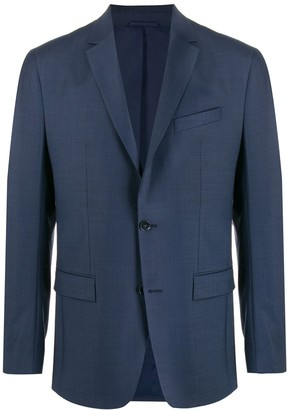 Calvin Klein Fitted Stretch Suit Blazer