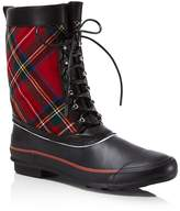 Burberry Women's Rowlette Lace Up Duck Boots