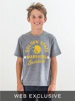 Junk Food Clothing Kids Boys Nba Warriors Tee-steel-l