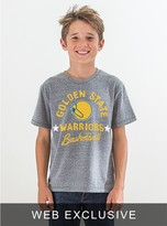 Junk Food Clothing Kids Boys Nba Warriors Tee-steel-s