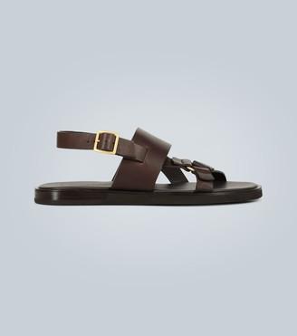 Ermenegildo Zegna Leather sandals