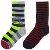 Nike Two-Pack Striped Crew Socks