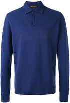 Loro Piana long-sleeved polo top - men - Cotton - S