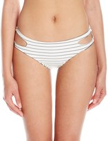 Billabong Women's Tan Lines Reversible Capri Bikini Bottom