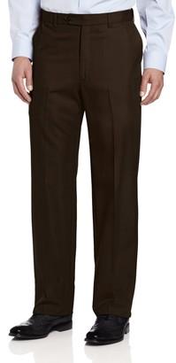 Ascott Browne Men's Big-Tall Expander Flat Front Pant