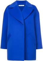 Oscar de la Renta oversized drop shoulder coat