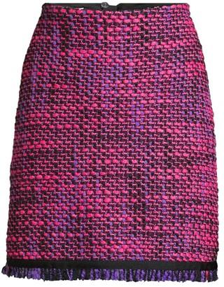 Escada Sport Ruge Multi-Tweed A-Line Skirt