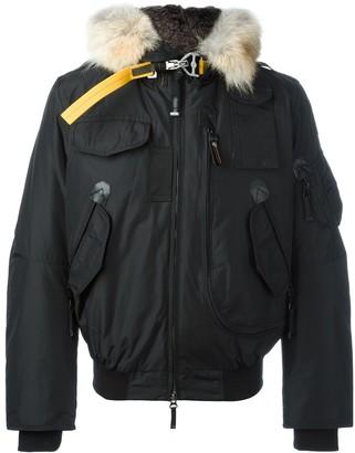 Parajumpers Faux Fur Trim Padded Jacket