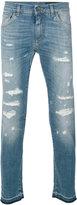 Dolce & Gabbana distressed jeans - men - Cotton/Spandex/Elastane - 44