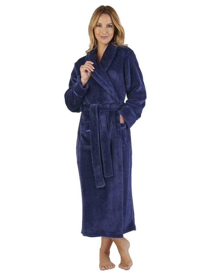 9ca69e632783 Soft Fleece Dressing Gown - ShopStyle Canada