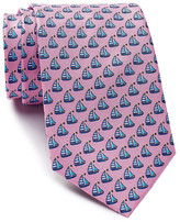 Tailorbyrd Sail Boat Silk Tie