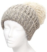 Women's Knit Hat with Oversized Pom Pom - Do Everything In Love