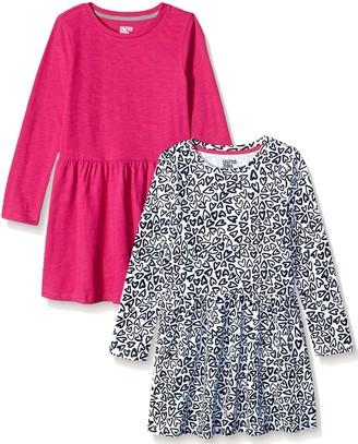 Spotted Zebra Toddler Girls' Knit Long-Sleeve Play Dress