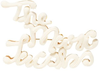 Marc Jacobs The Cake Icing brooch