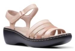 Clarks Collection Women's Delana Brenna Flat Sandals Women's Shoes