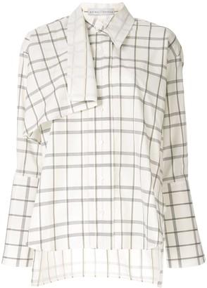 Palmer Harding long-sleeved Altered shirt