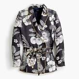 J.Crew Silk wrap blazer in island floral